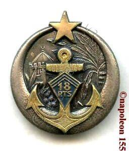TROUPES COLONIALES. 18 eme Rgt de Tirailleurs Senegalais RTS. Fab. Drago déposé
