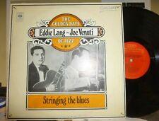"EDDIE LANG & JOE VENUTI ""Stringing the blues"" 2LP NM/VG+ WOC"