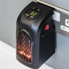 low energy consumption mini electric heater 400w 500w small compact room heat