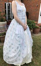 Edwardian victorian Theatre Theatrical crystal Dress Petticoat Handmade costume