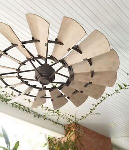"""Quorum WINDMILL 960145 Ceiling Fan 60"""" """"Bronze - IN STOCK!!!"""