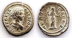 Imperio Romano-Geta. Denario 199 d.C. Roma. Plata 2,2 g.