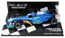 Minichamps Sauber F1 Showcar 2005 - Jacques Villeneuve 1/43 Scale