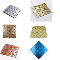 Peel and Stick Mosaic Wall Tile Self Adhesive Backsplash Kitchen Wall Stickers