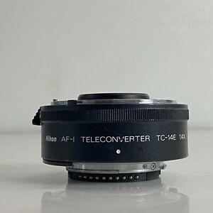 Nikon AF-1 Teleconverter TC-14E 1.4x AF-S Lens From Japan - Exc TK01I