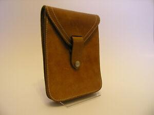 Gürteltasche dickes Natur Leder Damen Tasche Umhängetasche Lasche Druckknopf