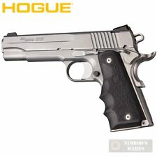 HOGUE 1911 Government Rubber GRIP Finger Grooves 45000 FAST SHIP