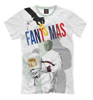 Fantomas t-shirt - stylish tee old school character