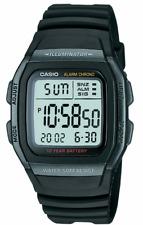 CASIO  W-96H-1B  W-96  Men's Alarm Chronograph 50m  Digital Sport Watch W96H