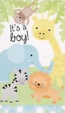 It'S A Boy birth announcement Scene Setter wall/door decoration Baby Animals