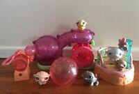Littlest Pet Shop Bulk x 5 Hamster Playset Ball House Key Ring #1774#1057