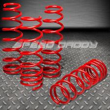"1.5"" DROP SUSPENSION LOWERING SPRINGS FITS 09-16 NISSAN 370Z Z34/G37 V36 RED"
