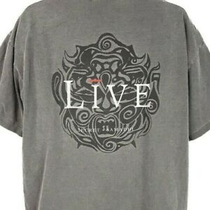Live Secret Samadhi T Shirt Vintage 90s 1997 Tour Giant Tag Made In USA Size XL