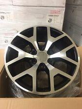 "4 NEW 2014 GMC Sierra Wheels 20x9  Black & Machined OE 20"" Silverado Denali"