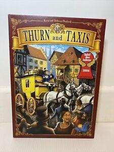 Thurn And Taxis Board Game Rio Grande English Edition 2006 Speil Des Jahres