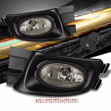 Smoke Len Bumper Fog Light Lamp w/Bezel+Bulb+Switch For 03-05 Accord Sedan CM5/6