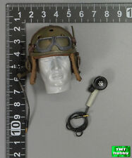 1:6 Scale DID WWII US Armored Division A80113 - M1938 Tanker Helmet w/Microphone