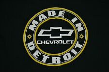 Chevrolet Cars Chevy Made In Detroit Automobile Company T Shirt XL Motor City