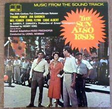 The Sun Also Rises - Soundtrack - 1981 U.S MONO Pressing - VG+ / NM  Vinyl LP