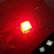 10 pcs PLCC-6 5050 POWER SMT SMD 3 CHIPS RED 1100mcd LED Llight Lamp Bright