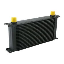 Black Universal 19 Row AN-10AN Engine Transmission Racing Oil Cooler For British