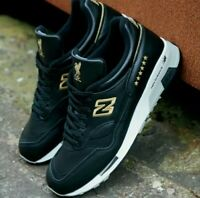 New Balance 1500 Trainers Shoes Liverpool FC UCL NB Black Gold | Size UK 8.5