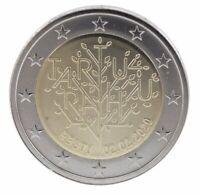 2 EURO ESTONIA 2020 - 100° TRATTATI DI TARTU - UNC  FDC