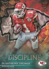2014 TOPPS VALOR De'ANTHONY THOMAS RB CHIEFS ROOKIE #79 DISCIPLINE 220/299