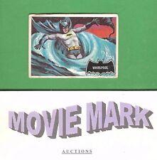 Topps 1966 BATMAN (Black Cowl) Original Card #54 Whirlpool FREE Ship plus BONUS!