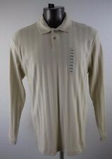 NEW Alfani Men's Long Sleeve Pulover Polo Size L