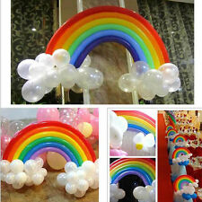 Rainbow Set Colorful Magical Long Animal Twist Latex Balloon Kid Party Decorate