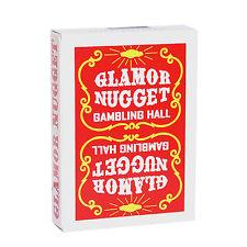 CARTE DA GIOCO GLAMOR NUGGET LIMITED RED EDITION,poker size