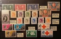 HONG KONG 1937-1963 stamp collections in XF/VF condition MNH