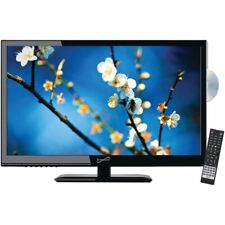 "Supersonic Sc-2412 24"" 1080P Led Tv/Dvd Combination, Ac/Dc Compatible With Rv/Bo"
