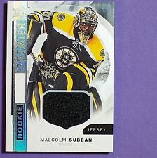 MALCOLM SUBBAN  2015/16  UD  Premier  ROOKIE  Jersey  #R20  Boston Bruins