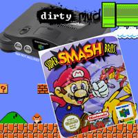 AUS PAL Super Smash Bros Nintendo 64 N64 Label Sticker Replacement Reproduction