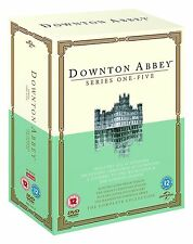 Downton Abbey Series 1 2 3 4 5 + Christmas Special Complete Collection Dvd New