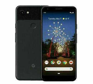 Google Pixel 3A  64GB  Just Black Verizon Unlocked  Smartphone