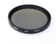 55mm VIVITAR Circular Polarizing Filter - CPL Polarizer - NEW