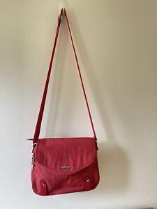Kipling  Red  Crossbody Shoulder Bag