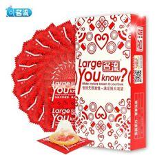 Boîte de 10 préservatifs / capotes taille large - Envoi de France