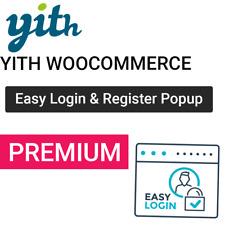 YITH Easy Login & Register Popup For WooCommerce Premium Wordpress Plugin - WP