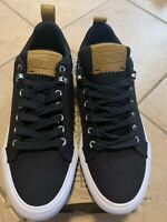 Converse All Star Fulton Ox Mens Low Top Black/White Causal Shoe 149414C Size 8