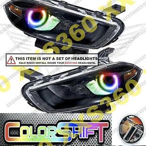 ORACLE Headlight HALO RING KIT for Dodge Dart 13-16 LED ColorSHIFT 1.0