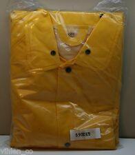NEW BOSS PROTECTIVE CLOTHING YELLOW SIZE XXXXXL 5XL poly vinyl chloride garment