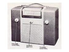 1946 SENTINEL 285P RADIO SERVICE MANUAL IU-285p photofact schematic diagram