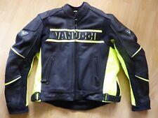 Spitzen-Motorradjacke mit Neon von Vanucci für Herren, Gr. 52-54 (XL)