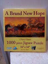 Mini Cowboy Jigsaw Puzzles 1000 PCS Paper Puzzles Adult Kids Educational Toys