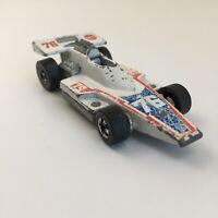 Vintage Hot Wheels Redlines Formula 5000 White Mattel, Inc. 1975 Hong Kong