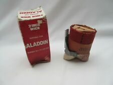 Vintage Aladdin 2in oil paraffin lamp wick boxed for 201, 202 & 203 burners